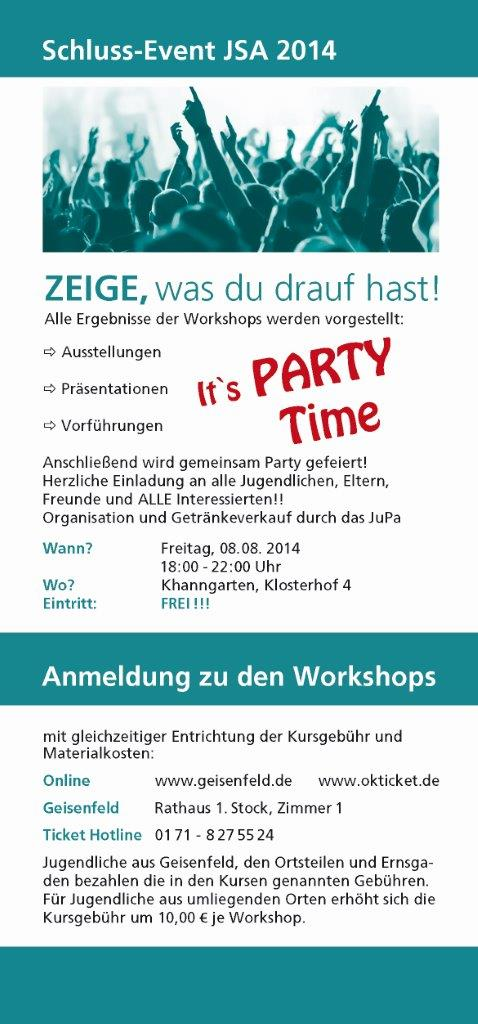 Schluss-Event
