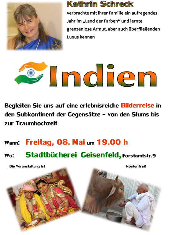 Indienvortrag