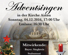 Adventssingen