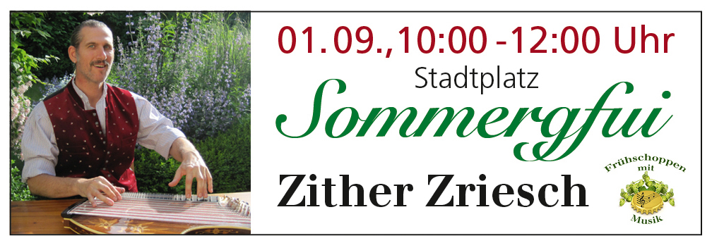 Zither Zriesch